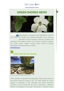 GreenShores Newsletter